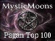 Mysticmoons top 100 Pagan Sites